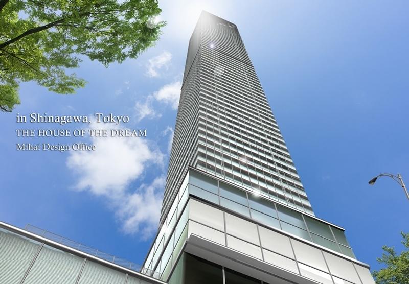 高層ビル建築パース・高層ビル外観パース