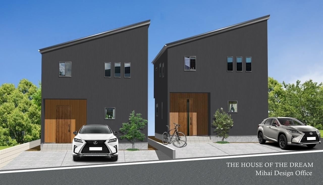 建売住宅建築パース