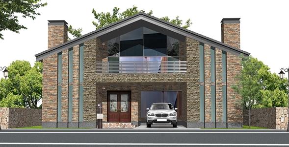 NEW DESIGN 注文住宅建築パース