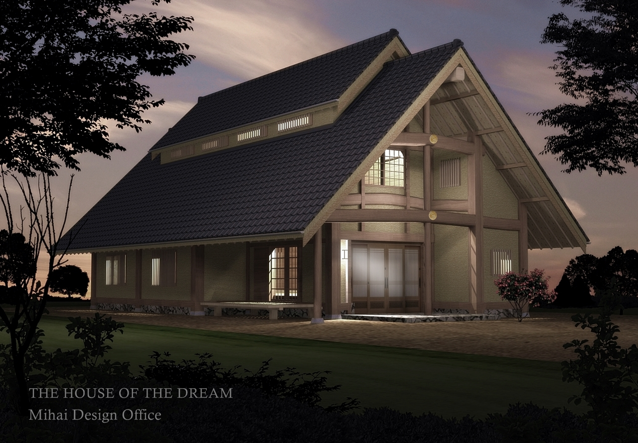 夜景建築パース
