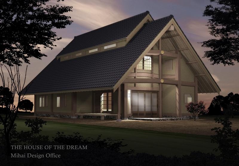 日本の家建築パース