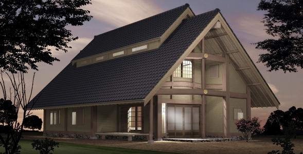 日本の家・建築パース