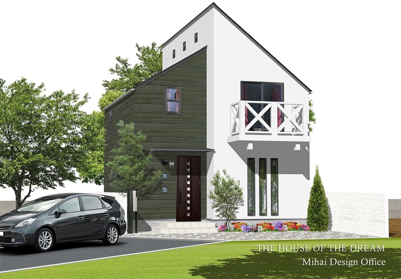 安い建築パース・安い外観パース