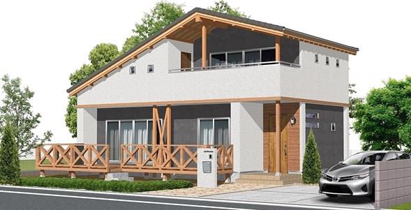 注文住宅建築パース