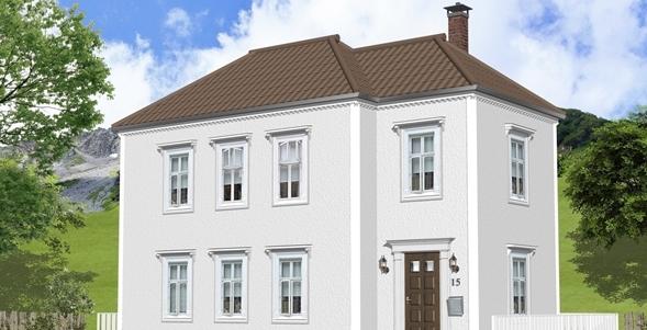 東欧の家建築パース